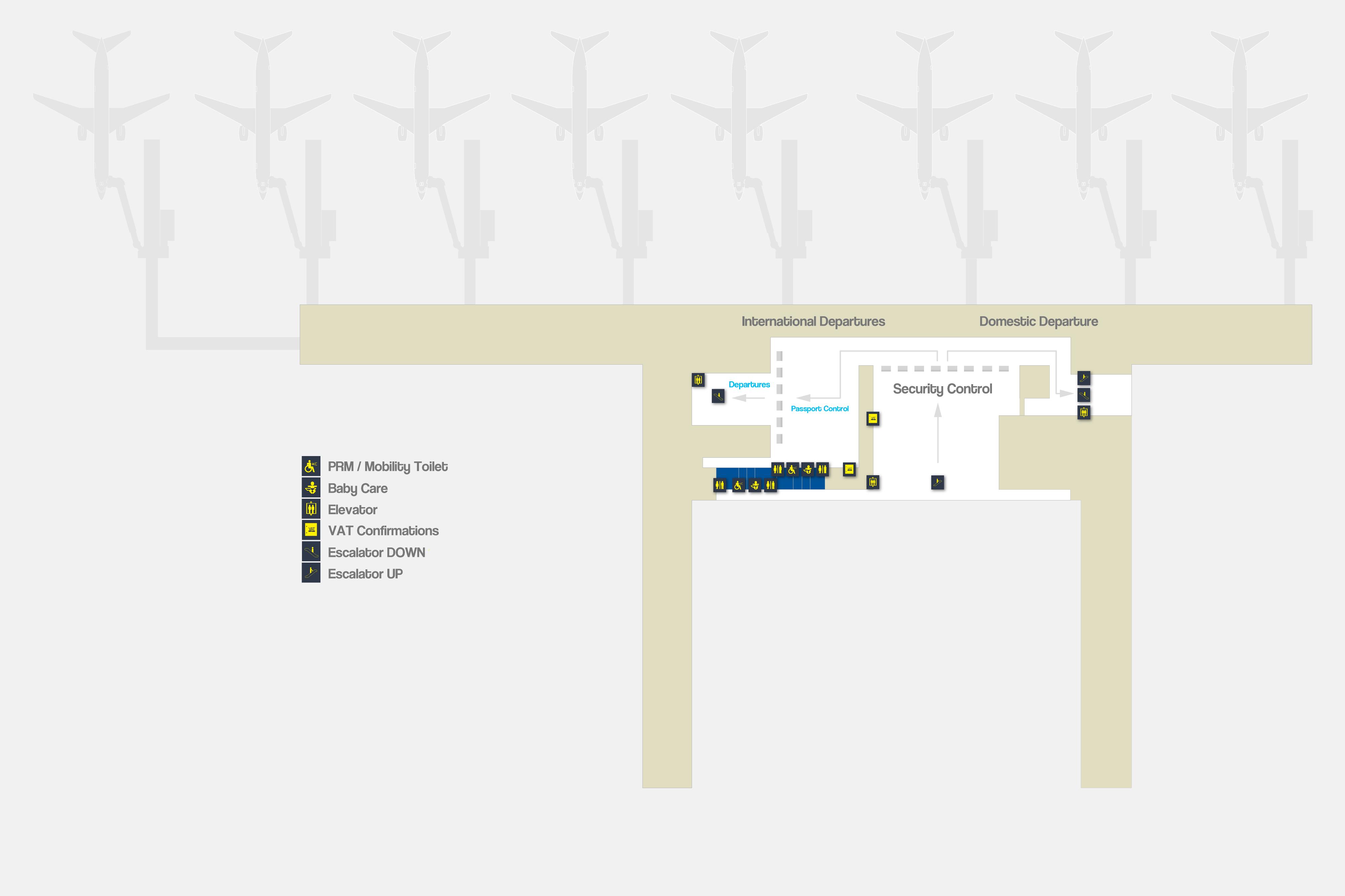 Franjo Tuđman Airport Zagreb Airport Map
